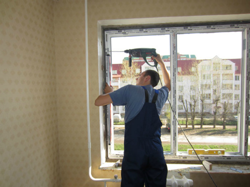 Стандарты на алюминиевые окна