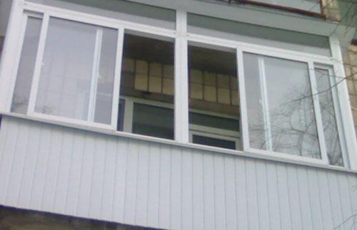 Алюминиевые окна в нижнем