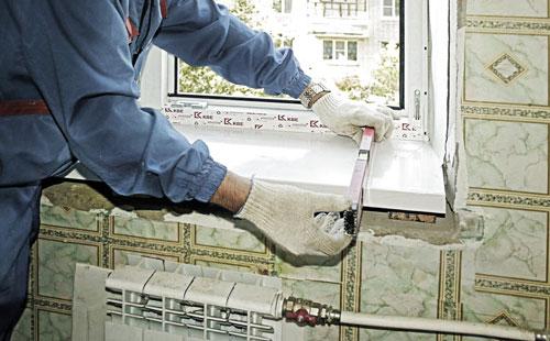 Наружное остекление балконов